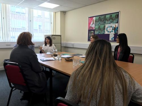 Leicester MP visits Futures centre in Leicester